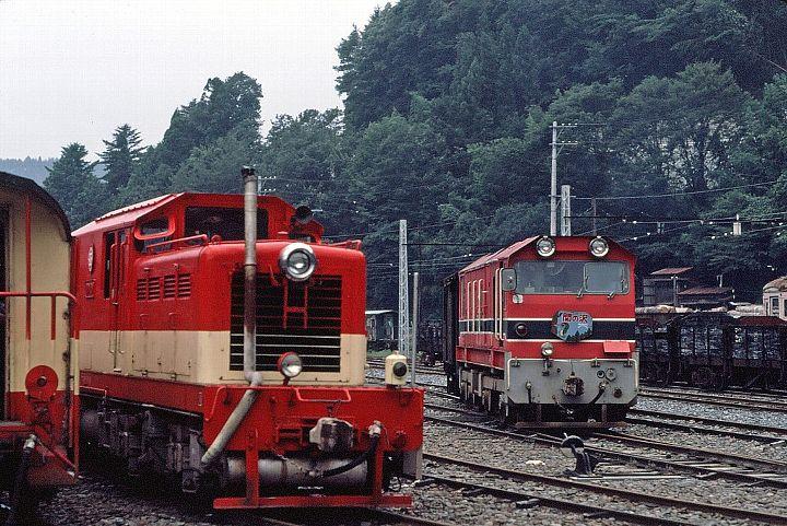 夕張鉄道DD1000形ディーゼル機関...